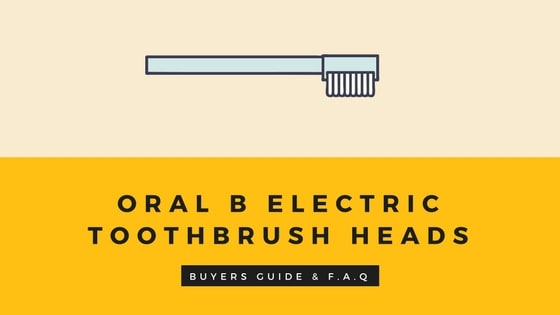Braun oral b electric toothbrush heads
