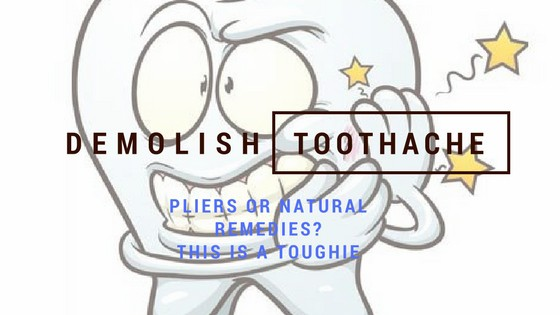 Relieve toothache fast