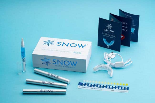 snow teeth whitening product