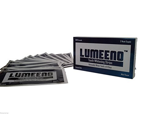 Lumeeno professional strength whitening strips