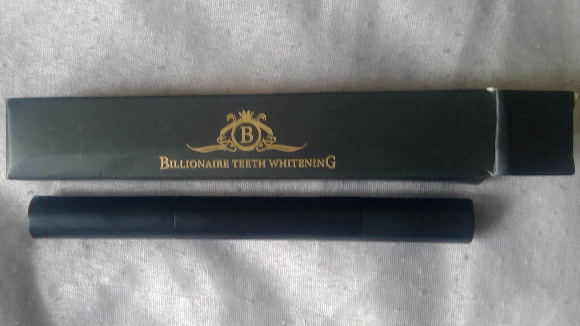 billionaire teeth whitening pen