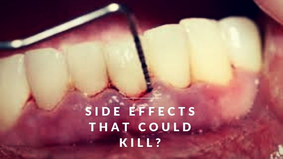 dental deep cleaning side effects