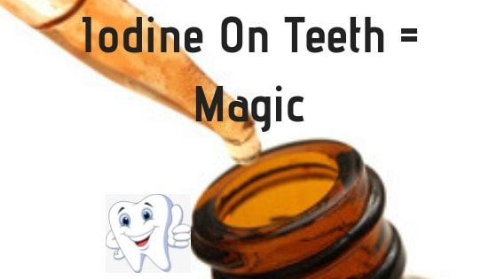 iodine for teeth and gums