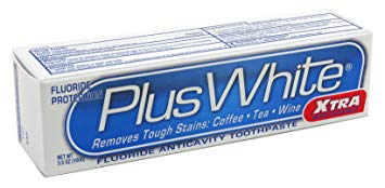 Plus White Toothpaste Review