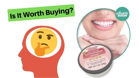 Primal Life Dirty Mouth Tooth Powder Review (2019) – Why Choose This?