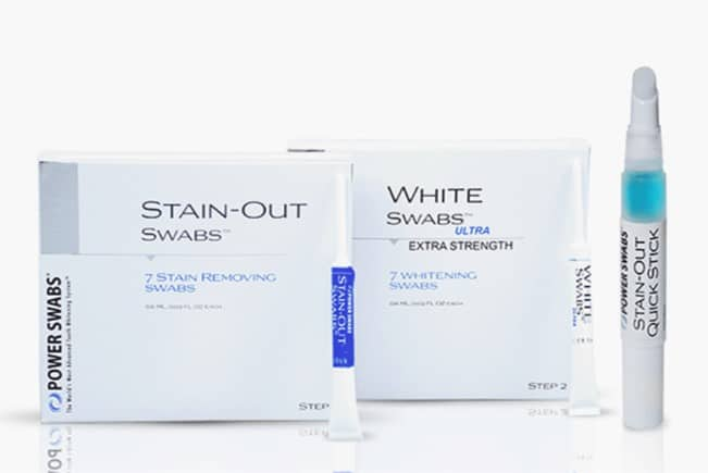 power swabs teeth whitening scam