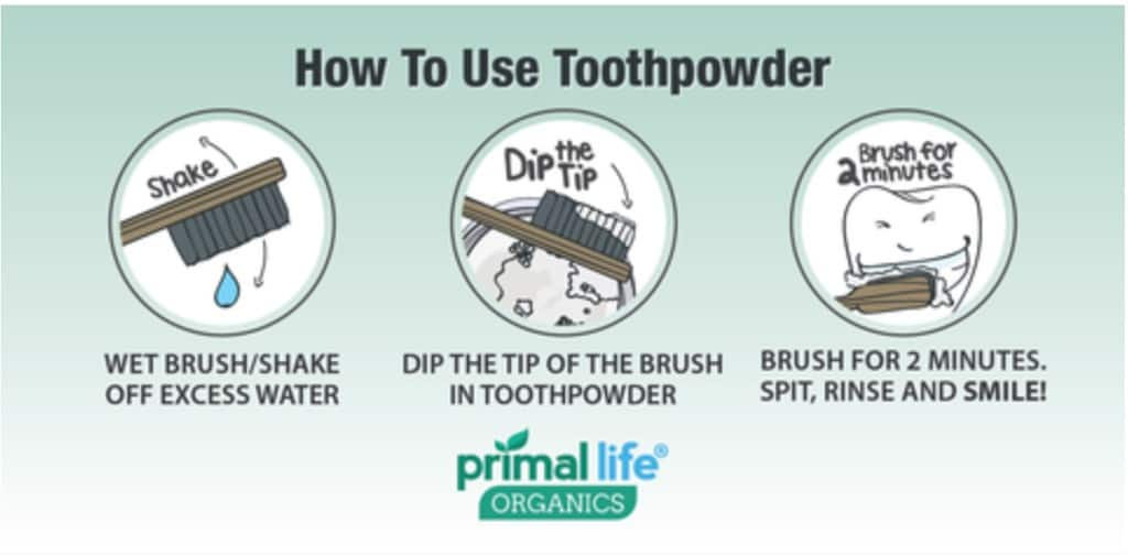 primal life organics tooth powder review
