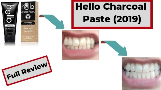 Hello Charcoal toothpaste reviews