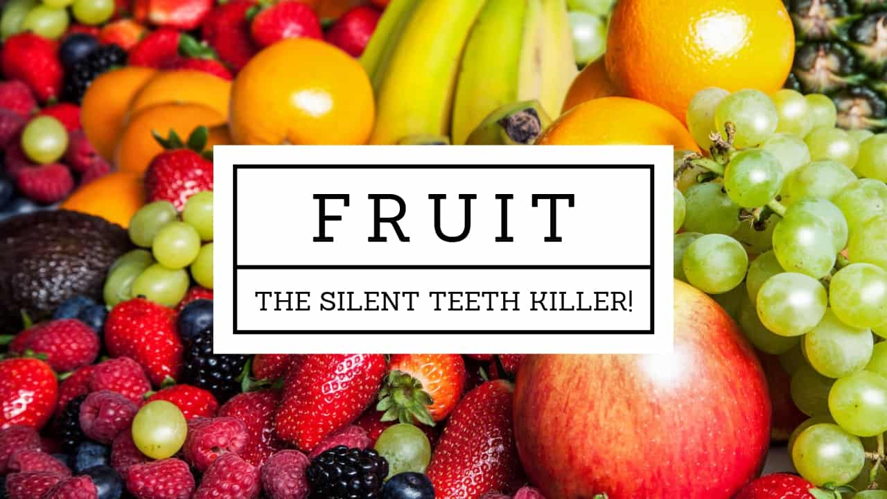 Is fruit good for teeth
