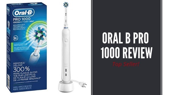 Oral B White Pro 1000 Power Rechargeable Toothbrush Review