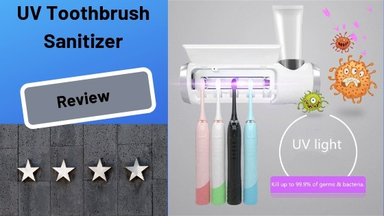 UV Toothbrush Sanitizer Holder