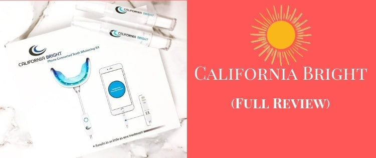 california bright teeth whitening
