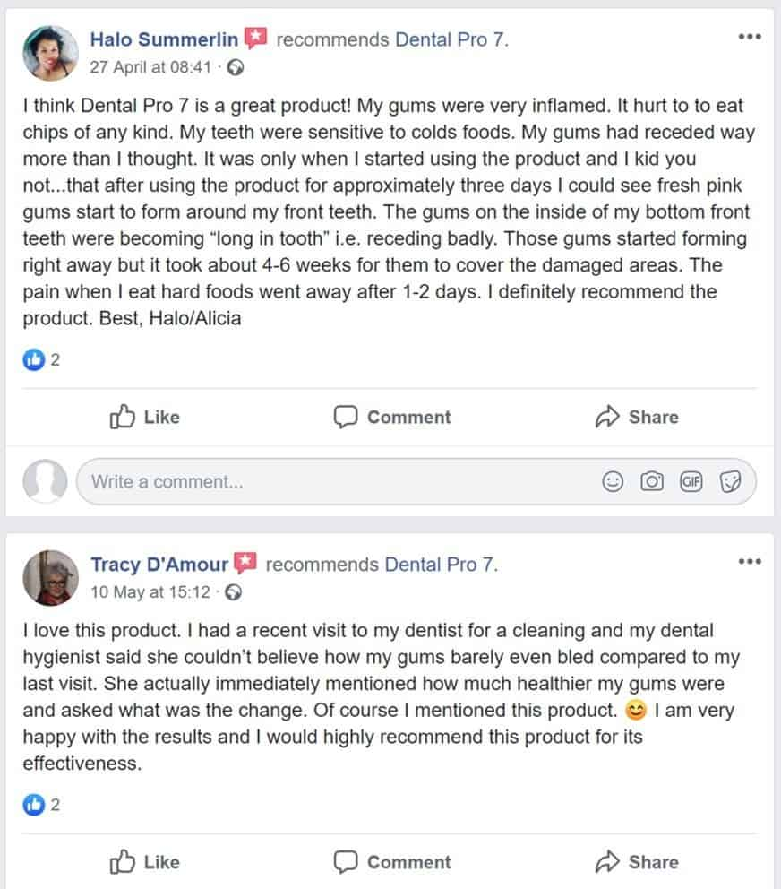 dental pro 7 facebook reviews