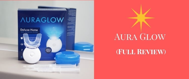 Aura glow teeth whitening review