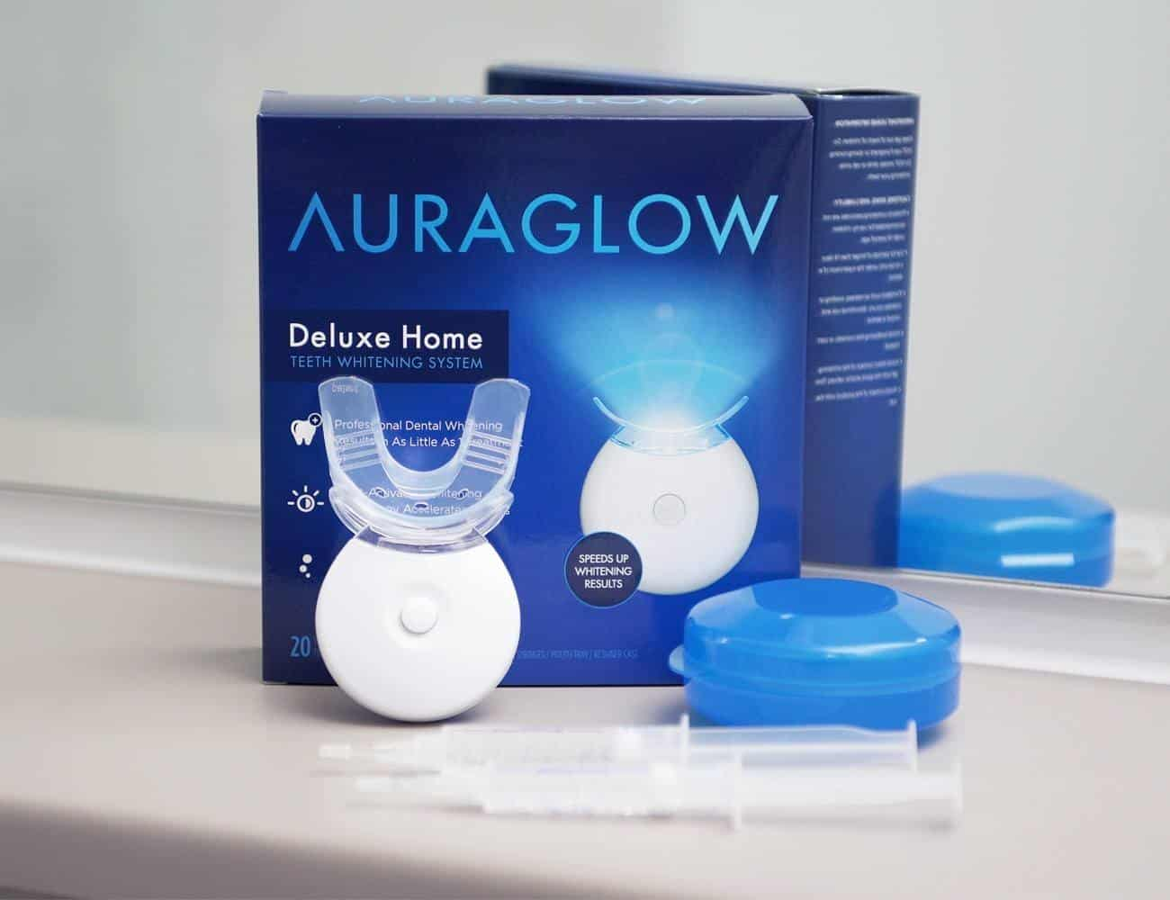 Auroglow teeth whitening review full kit