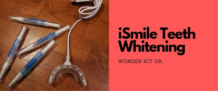 ismile teeth whitening kit review