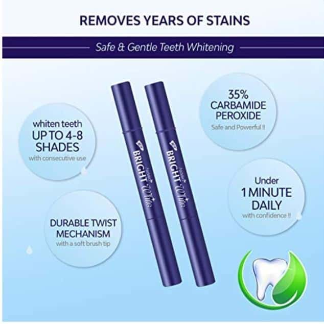 asavea teeth whitening pen