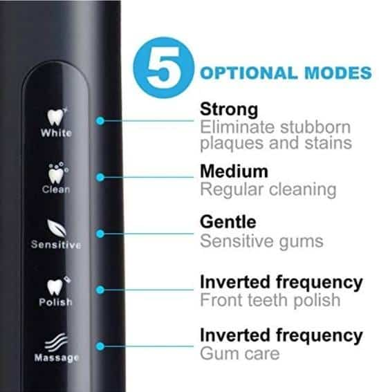 fairywill electric toothbrush review